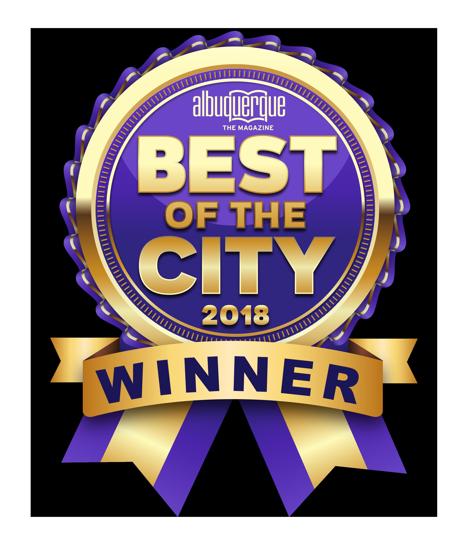 2018 Best of the City Winner