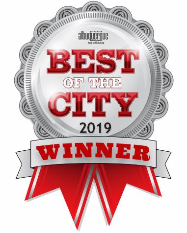 2019 Best of the City Albuquerque Winner
