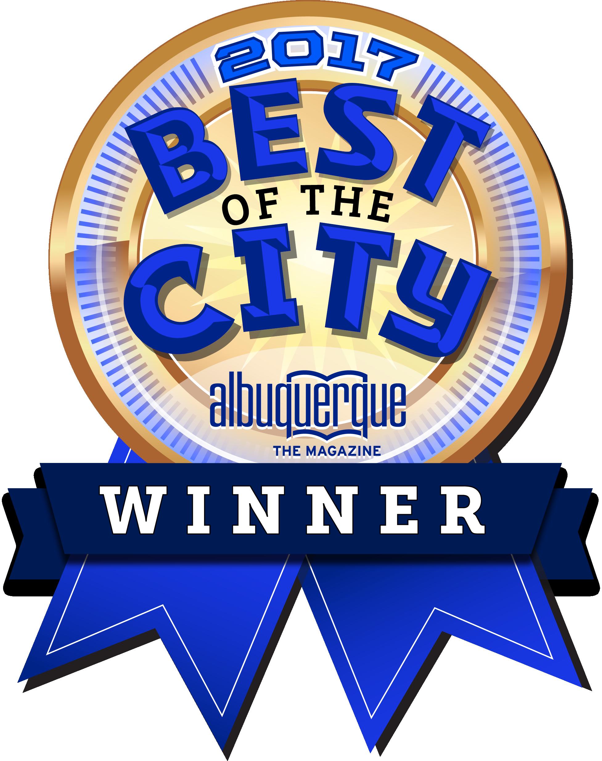 2017 Best of the City Albuquerque Winner