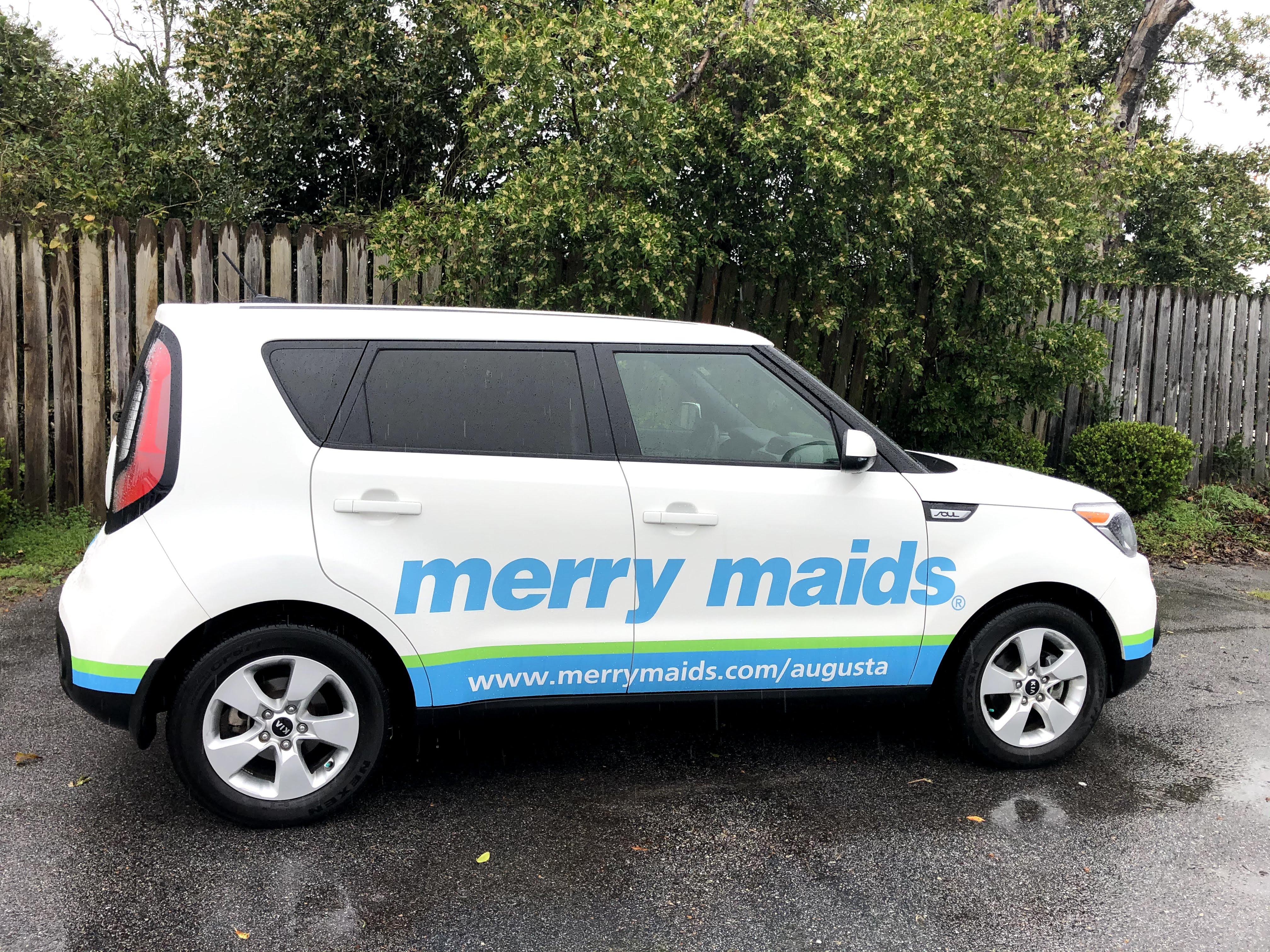 Merry Maids Car