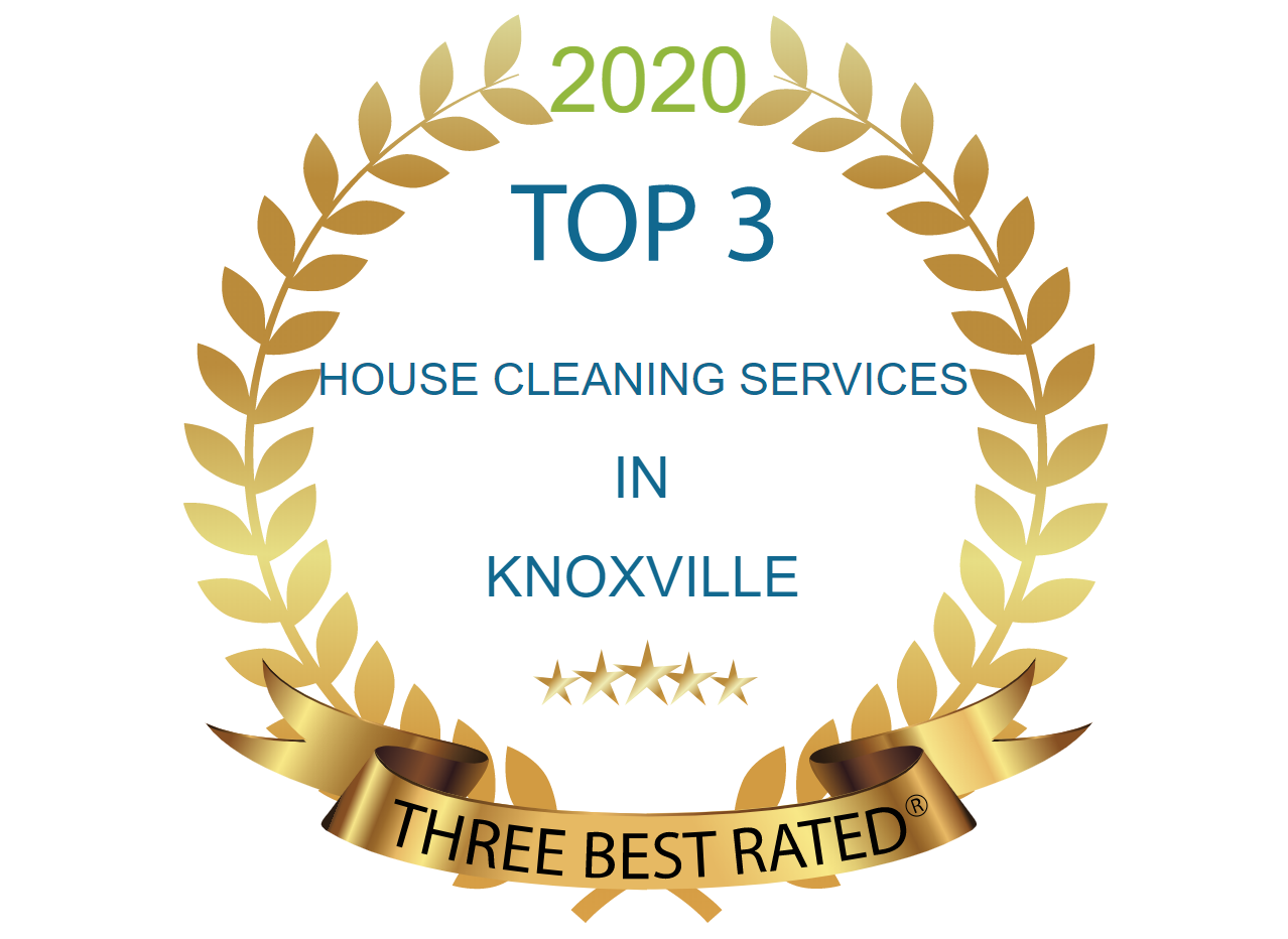 Three Best Rated Award: Top 3 House Cleaning Services in Knoxville
