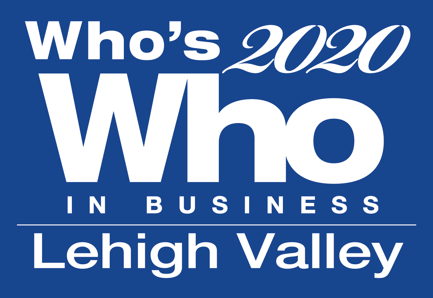 Who's Who in Business 2020 Lehigh Valley