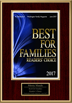 Best For Families Award