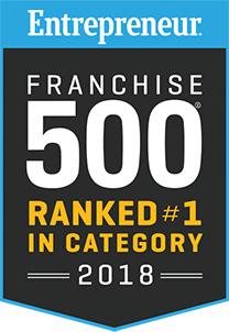 Entrepreneur Franchise 500: Ranked #1 in Category 2018