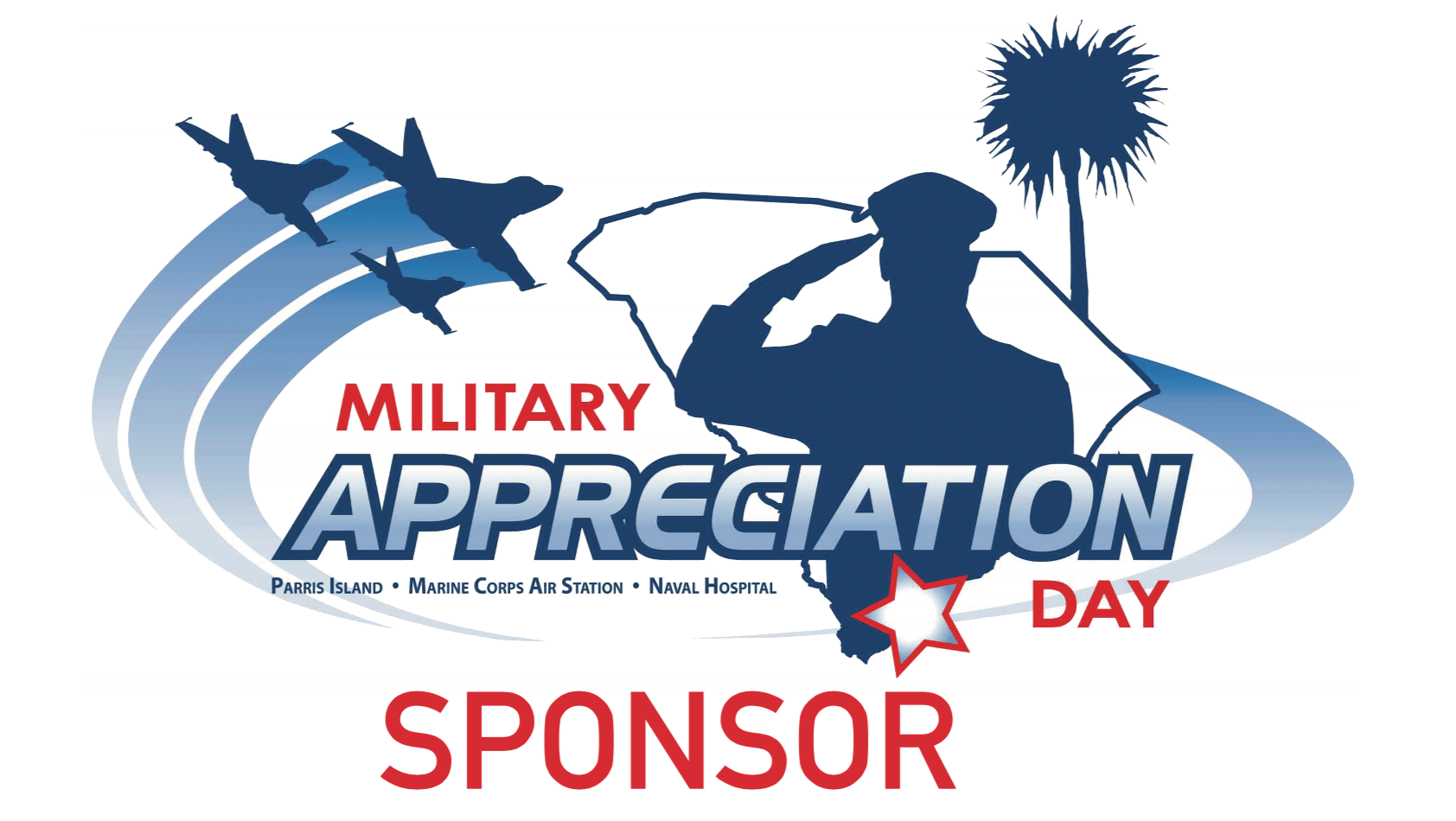 Military Appreciation Day Sponsor badge
