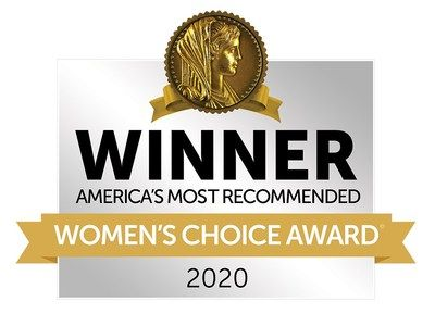 2014-2019 Women's Choice Award: America's Most Recommended