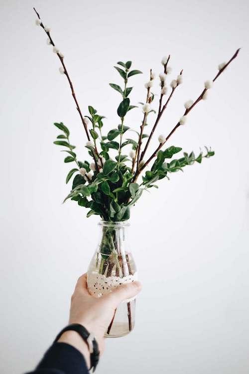flower vase | spring decorations