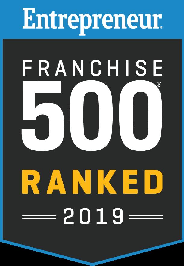 Franchise 500 Ranked badge