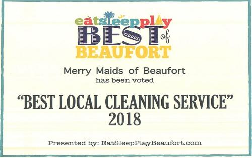 Best Local Cleaning Service award
