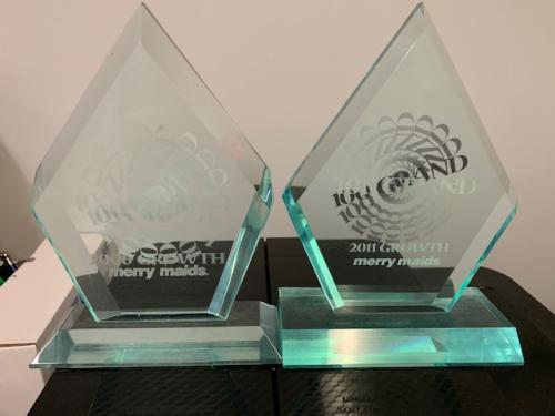 Two Merry Maids awards