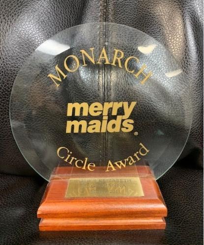 Merry Maids Circle Award: Monarch