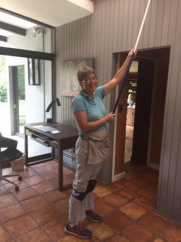Bloomington Team Member Cleaning