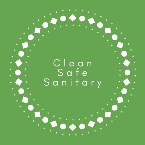 clean safe sanitary