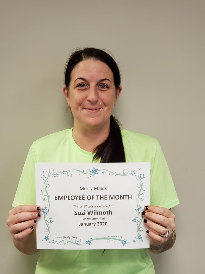 January 2020 Employee of the Month